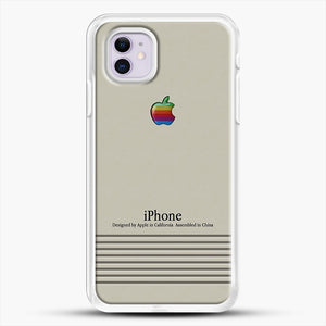 Macintosh iPhone Case iPhone 11 Case, White Rubber Case | JoeYellow.com