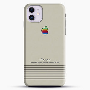 Macintosh iPhone Case iPhone 11 Case, Black Snap 3D Case | JoeYellow.com
