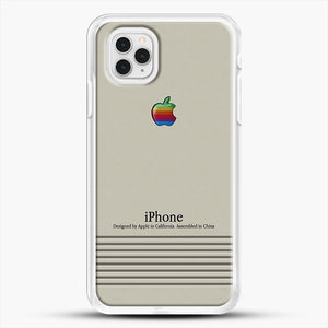 Macintosh iPhone Case iPhone 11 Pro Case, White Rubber Case | JoeYellow.com