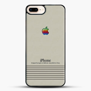 Macintosh iPhone Case iPhone 7 Plus Case, Black Plastic Case | JoeYellow.com