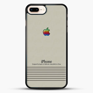 Macintosh iPhone Case iPhone 7 Plus Case, Black Rubber Case | JoeYellow.com