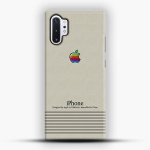 Macintosh iPhone Case Samsung Galaxy Note 10 Plus Case