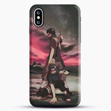 Load image into Gallery viewer, Midnight Itachi Shisui iPhone XS Case, Snap 3D Case | JoeYellow.com