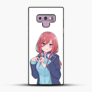 Miku The Quitessental Samsung Galaxy Note 9 Case, Black Plastic Case | JoeYellow.com