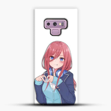 Miku The Quitessental Samsung Galaxy Note 9 Case, Black Snap 3D Case | JoeYellow.com