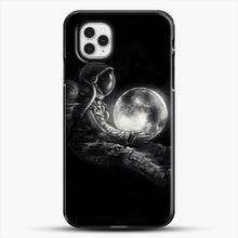 Load image into Gallery viewer, Moon Play iPhone 11 Pro Case, Black Plastic Case | JoeYellow.com