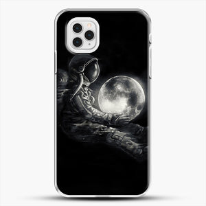 Moon Play iPhone 11 Pro Case, White Plastic Case | JoeYellow.com