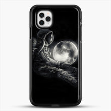 Load image into Gallery viewer, Moon Play iPhone 11 Pro Case, Black Rubber Case | JoeYellow.com