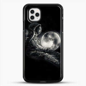 Moon Play iPhone 11 Pro Case, Black Rubber Case | JoeYellow.com