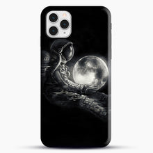 Load image into Gallery viewer, Moon Play iPhone 11 Pro Case, Black Snap 3D Case | JoeYellow.com