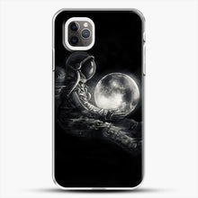 Load image into Gallery viewer, Moon Play iPhone 11 Pro Max Case, White Plastic Case | JoeYellow.com