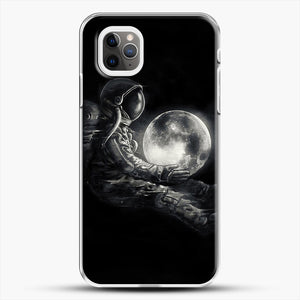 Moon Play iPhone 11 Pro Max Case, White Plastic Case | JoeYellow.com