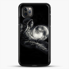 Load image into Gallery viewer, Moon Play iPhone 11 Pro Max Case, Black Rubber Case | JoeYellow.com