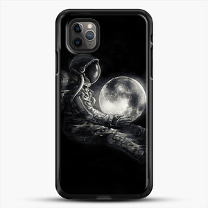 Moon Play iPhone 11 Pro Max Case, Black Rubber Case | JoeYellow.com
