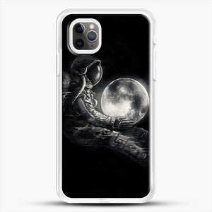 Moon Play iPhone 11 Pro Max Case, White Rubber Case | JoeYellow.com