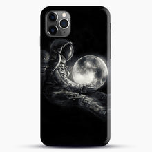 Load image into Gallery viewer, Moon Play iPhone 11 Pro Max Case, Black Snap 3D Case | JoeYellow.com