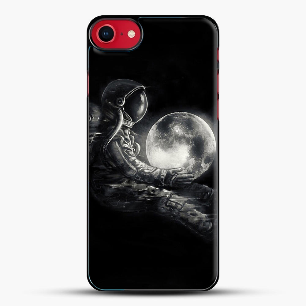 Moon Play iPhone 8 Case, Black Plastic Case | JoeYellow.com