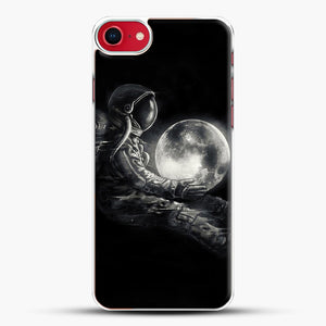 Moon Play iPhone 8 Case, White Plastic Case | JoeYellow.com