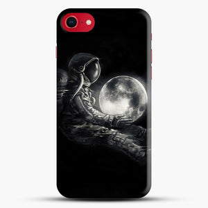 Moon Play iPhone 8 Case, Black Snap 3D Case | JoeYellow.com