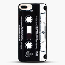 Load image into Gallery viewer, Music Tape Cover Nirvana Grunge iPhone 8 Plus Case, Black Plastic Case | JoeYellow.com