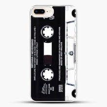 Load image into Gallery viewer, Music Tape Cover Nirvana Grunge iPhone 8 Plus Case, White Plastic Case | JoeYellow.com