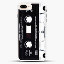 Load image into Gallery viewer, Music Tape Cover Nirvana Grunge iPhone 8 Plus Case, White Rubber Case | JoeYellow.com