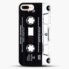 Load image into Gallery viewer, Music Tape Cover Nirvana Grunge iPhone 8 Plus Case, Black Snap 3D Case | JoeYellow.com