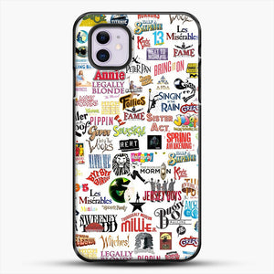 Musical Logos Cases Duvets Books Clothes Etc iPhone 11 Case, Black Plastic Case | JoeYellow.com