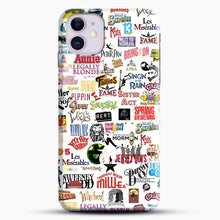 Load image into Gallery viewer, Musical Logos Cases Duvets Books Clothes Etc iPhone 11 Case, Black Snap 3D Case | JoeYellow.com