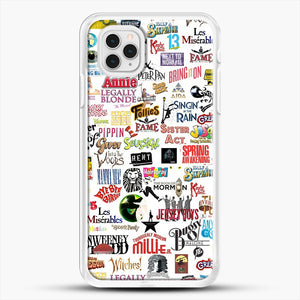 Musical Logos Cases Duvets Books Clothes Etc iPhone 11 Pro Case, White Rubber Case | JoeYellow.com