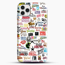 Load image into Gallery viewer, Musical Logos Cases Duvets Books Clothes Etc iPhone 11 Pro Case, Black Snap 3D Case | JoeYellow.com