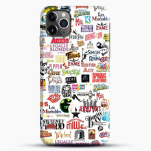 Load image into Gallery viewer, Musical Logos Cases Duvets Books Clothes Etc iPhone 11 Pro Max Case, Black Snap 3D Case | JoeYellow.com