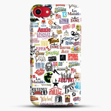 Load image into Gallery viewer, Musical Logos Cases Duvets Books Clothes Etc iPhone 7 Case, Black Snap 3D Case | JoeYellow.com