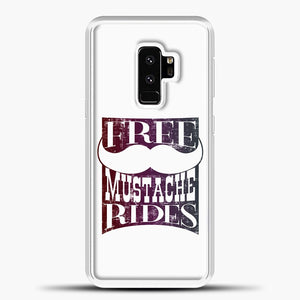 Mustache Rides For Free Samsung Galaxy S9 Plus Case