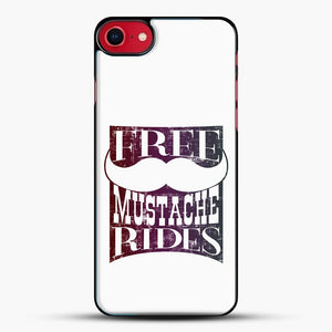 Mustache Rides For Free iPhone 7 Case