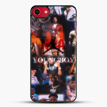 Load image into Gallery viewer, Nba Youngboy iPhone 7 Case, Black Plastic Case | JoeYellow.com