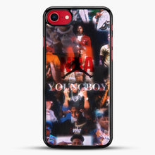 Load image into Gallery viewer, Nba Youngboy iPhone 7 Case, Black Rubber Case | JoeYellow.com