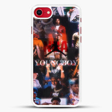 Load image into Gallery viewer, Nba Youngboy iPhone 7 Case, White Rubber Case | JoeYellow.com