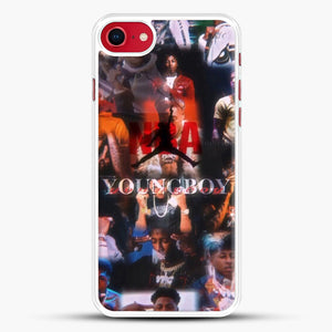 Nba Youngboy iPhone 7 Case, White Rubber Case | JoeYellow.com