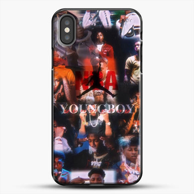 Nba Youngboy iPhone X Case, Black Plastic Case | JoeYellow.com