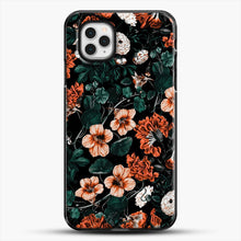 Load image into Gallery viewer, Night Forest Xvii A iPhone 11 Pro Case, Black Plastic Case | JoeYellow.com