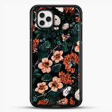 Load image into Gallery viewer, Night Forest Xvii A iPhone 11 Pro Case, Black Rubber Case | JoeYellow.com