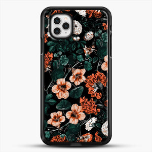 Night Forest Xvii A iPhone 11 Pro Case, Black Rubber Case | JoeYellow.com