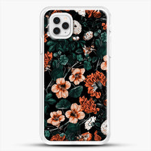 Load image into Gallery viewer, Night Forest Xvii A iPhone 11 Pro Case, White Rubber Case | JoeYellow.com