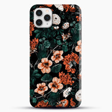 Load image into Gallery viewer, Night Forest Xvii A iPhone 11 Pro Case, Black Snap 3D Case | JoeYellow.com
