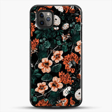 Load image into Gallery viewer, Night Forest Xvii A iPhone 11 Pro Max Case, Black Plastic Case | JoeYellow.com