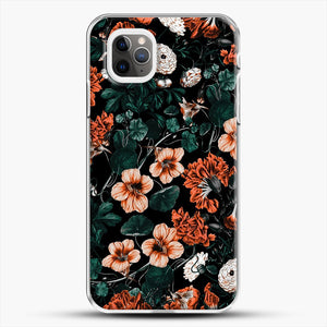 Night Forest Xvii A iPhone 11 Pro Max Case, White Plastic Case | JoeYellow.com