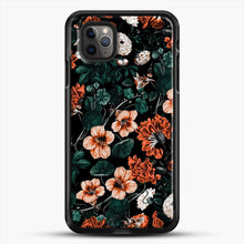 Load image into Gallery viewer, Night Forest Xvii A iPhone 11 Pro Max Case, Black Rubber Case | JoeYellow.com