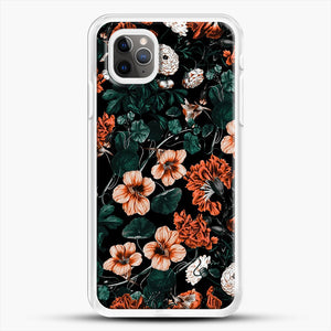Night Forest Xvii A iPhone 11 Pro Max Case, White Rubber Case | JoeYellow.com