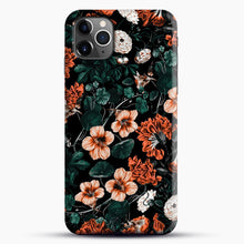 Load image into Gallery viewer, Night Forest Xvii A iPhone 11 Pro Max Case, Black Snap 3D Case | JoeYellow.com